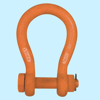 Lightweight Shackle, Round Type, O-shaped, Bolt Type