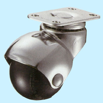 405P Swivel Caster, Rubber Wheel