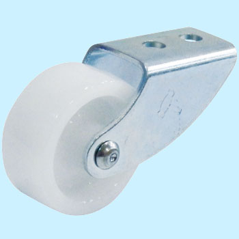 155 Rigid Caster, Nylon Wheel