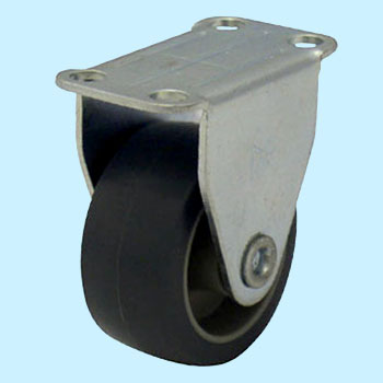 Skc Rigid Caster, Rubber Wheel