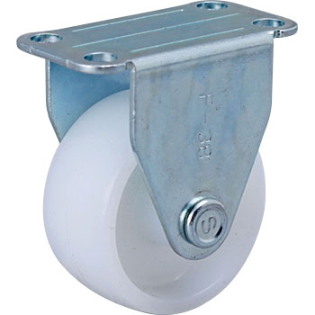 Skc Rigid Caster, Nylon Wheel