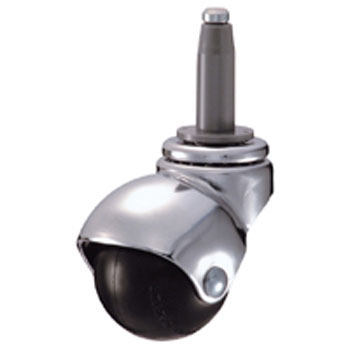 405B Swivel Caster, Integrated Rubber Wheel