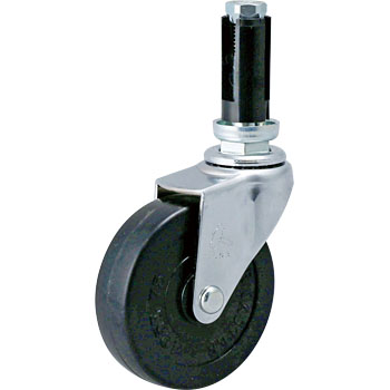 420EU Swivel Caster, Rubber Integral Wheel
