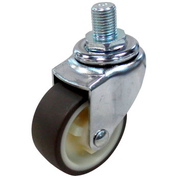Screw Type 420A Swivel Caster, Nylon Wheel Urethane Volume Wheel