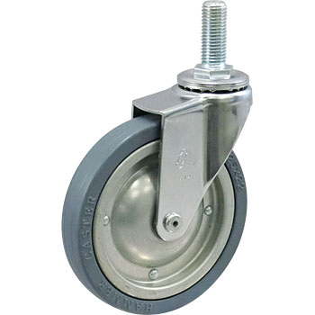 Screw Type 420Ea Swivel Caster, Griddle Wheel Rubber Volume Wheel