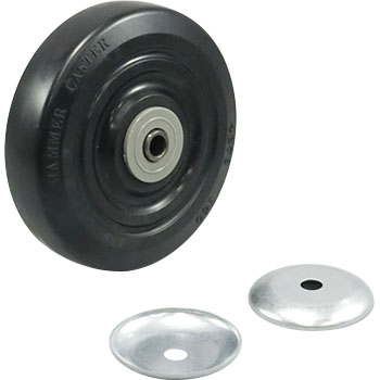 Wheel, Rubber, With BWheel437 S-Nb