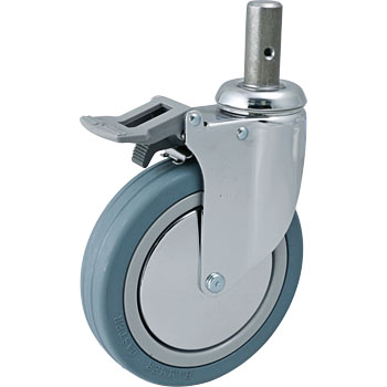 Swivel Caster, Rubber-Wheel