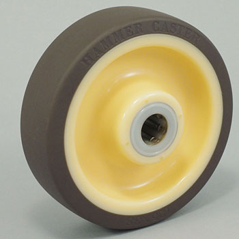 Stainless Steel Exclusive Wheel, Urethane, W/BWheel439S0S-Ub