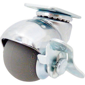 405 15P Swivel Caster, Urethane Wheel) With Stopper