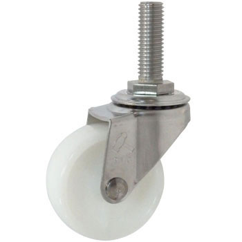 Stainless 320Ea, Swivel Caster, Nylon Wheel