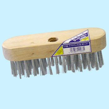 Deck brush wire