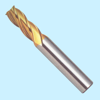 Four-sheet cutting-edge G center cut end mill medium cutting edge