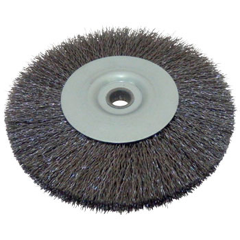 Steel-wire wheel brush