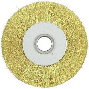 Brass Press Wheel Brush