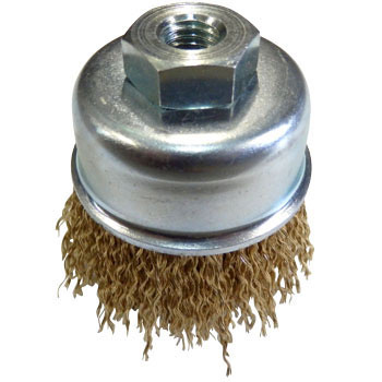 Steel-wire plating wire cap brush