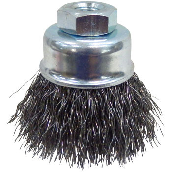 Steel wire cap brush