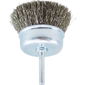 SUS304 Cup brush with a stainless steel axis