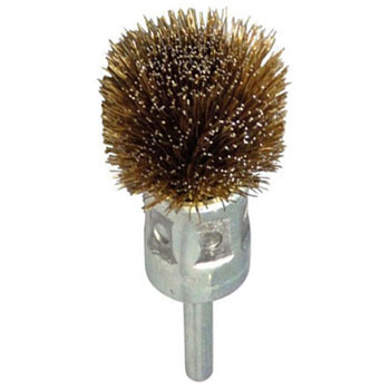 Steel Wire Plated Cup Brush