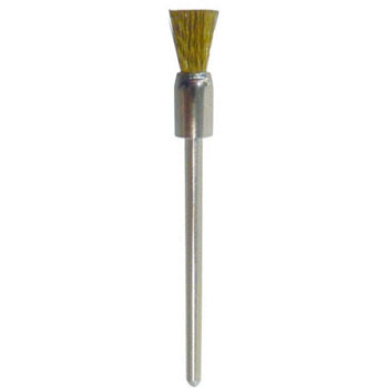 Miniature Brass Shank Cylindrical Brush