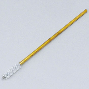 Miniature nylon spiral brush
