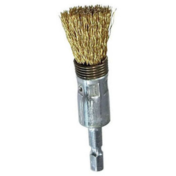 Hex Shank Steel Wire Cylinder Brush