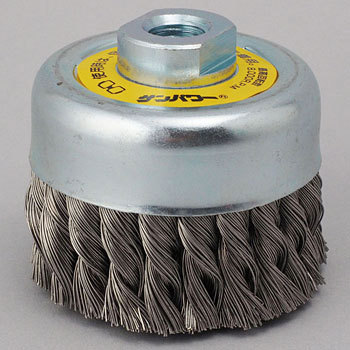 SUS304 Stainless steel twist cup brush