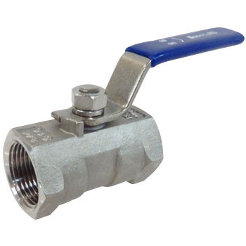 Stainless 1Pc Screwed Ball Valve