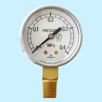 Small Pressure Gauge (Vertical-collarless)