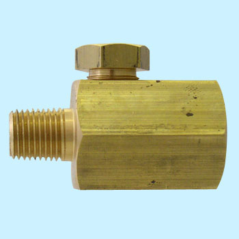 Dampener, Brass, Female G1/4 x Male R1/4