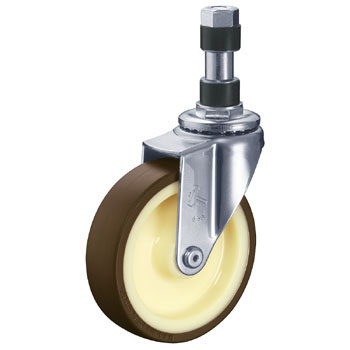 420EX Swivel Caster, Nylon Wheel, Urethane Wheel