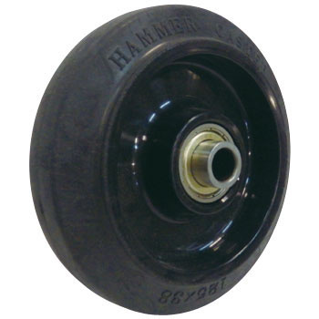 Wheel, Rubber, With BWheel434 S-Fr