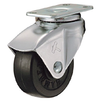 450P Swivel Caster, Rubber Wheel