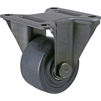 560SR Rigid Caster, Nylon, B, Vehicle