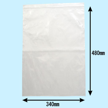 Uni- Pack, Chuck Attaching Polyethylene Bag0.04Mm