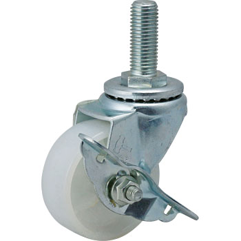 413SA Swivel Caster, Nylon, B On, Vehicle, With Stopper