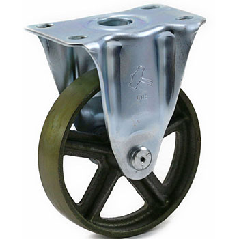 SR 420 Rigid Caster, Casr Metal Wheel