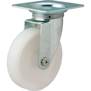 400S Swivel Caster, Nylon Solid Wheel