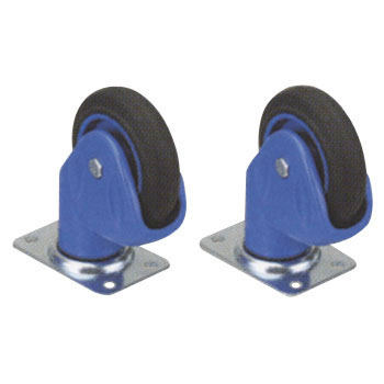 Caster for Plastic Fresh Car, Swivel Caster