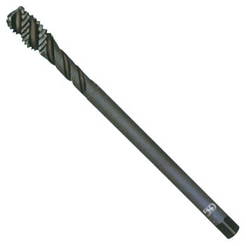 Spiral tap (mild steel , long shank for deep hole)