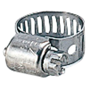 All Stainless Steel Hose Clamp, 7.9mm Width