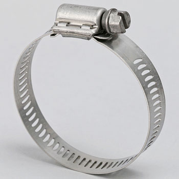 All Stainless Steel Hose Clamp, 12.7mm Width