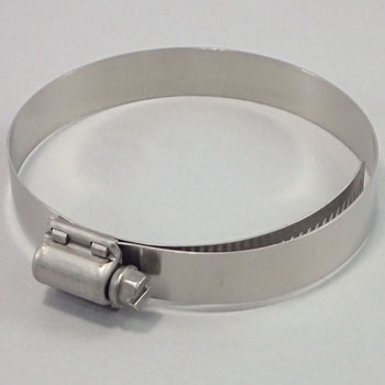All Stainless Steel Hose Clamp, 14.4mm Width