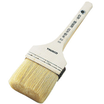 Steel and Bridge Brush, White Flat