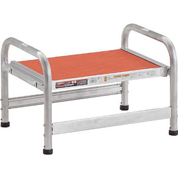 Aluminum Work Stepstool with Adjuster