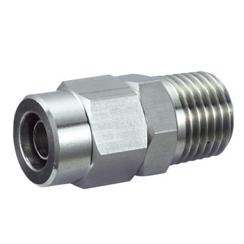 Stainless Male Connector