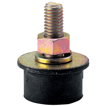 Round Type Rubber Vibration Isolators (One-end Bolt Type)