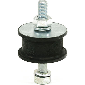 Round Type Rubber Vibration Isolators, Both Bolt Type