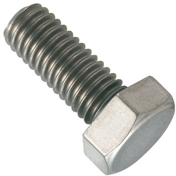 Titanium Hexagon Head Bolt, Full Threaded Screw