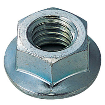 Uni Chromate Hex Flange Nut