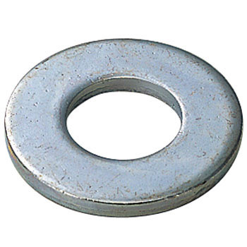 Flat Washer, Iron, Uni Chromate